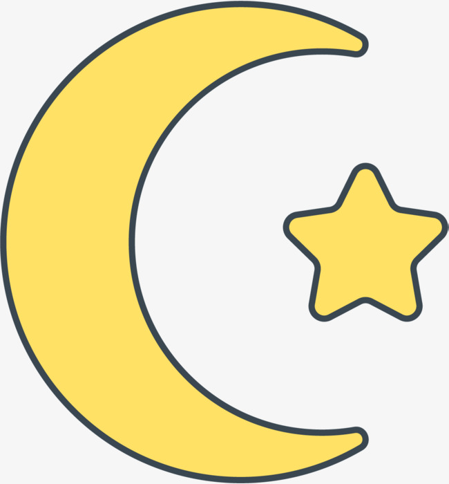 650x700 Eid Al Moon Stars, Eid, Al, Adha Png Image And Clipart For Free