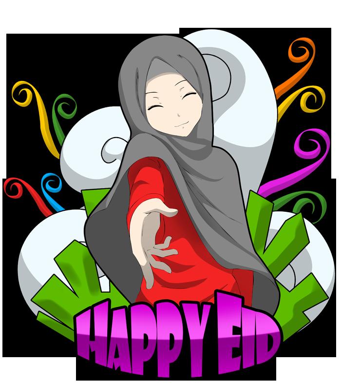 700x787 Happy Eid By Crowmaru