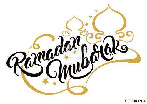 500x354 Vector Ramadan Mubarak, Greeting Card, Vector Httpsru.fotolia