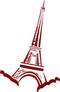 195x297 Eiffel Tower Clip Art