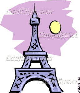 258x300 Eiffel Tower Clipart