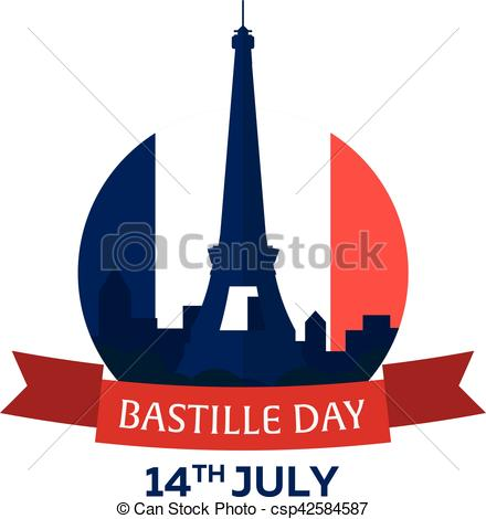 440x470 Bastille Day. 14 July. Paris. Tourism. Eiffel Tower. France