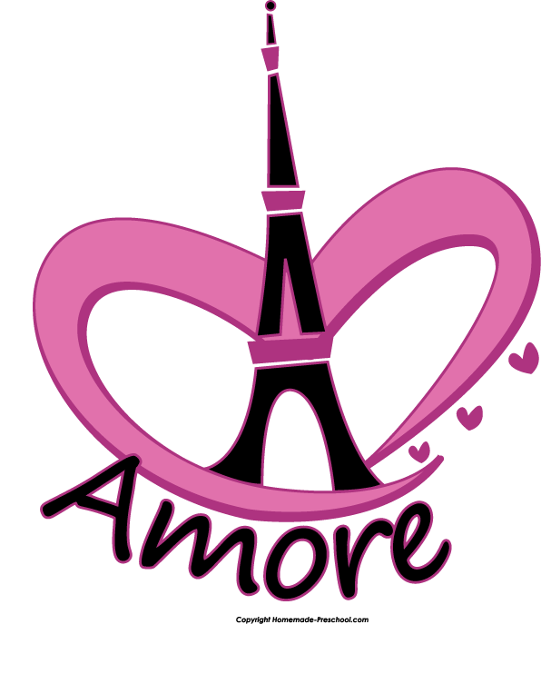 596x742 Eiffel Tower And Hearts Drawing Home Free Clipart Eiffel Tower