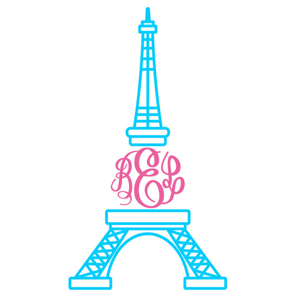 600x600 Cozy Design Clipart Eiffel Tower Clip Art At Clker Com Vector