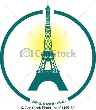 410x470 Eiffel Tower Clip Art Vector