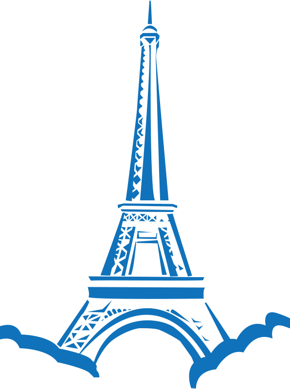 596x800 Free Clipart Eiffel Tower Paris Shokunin