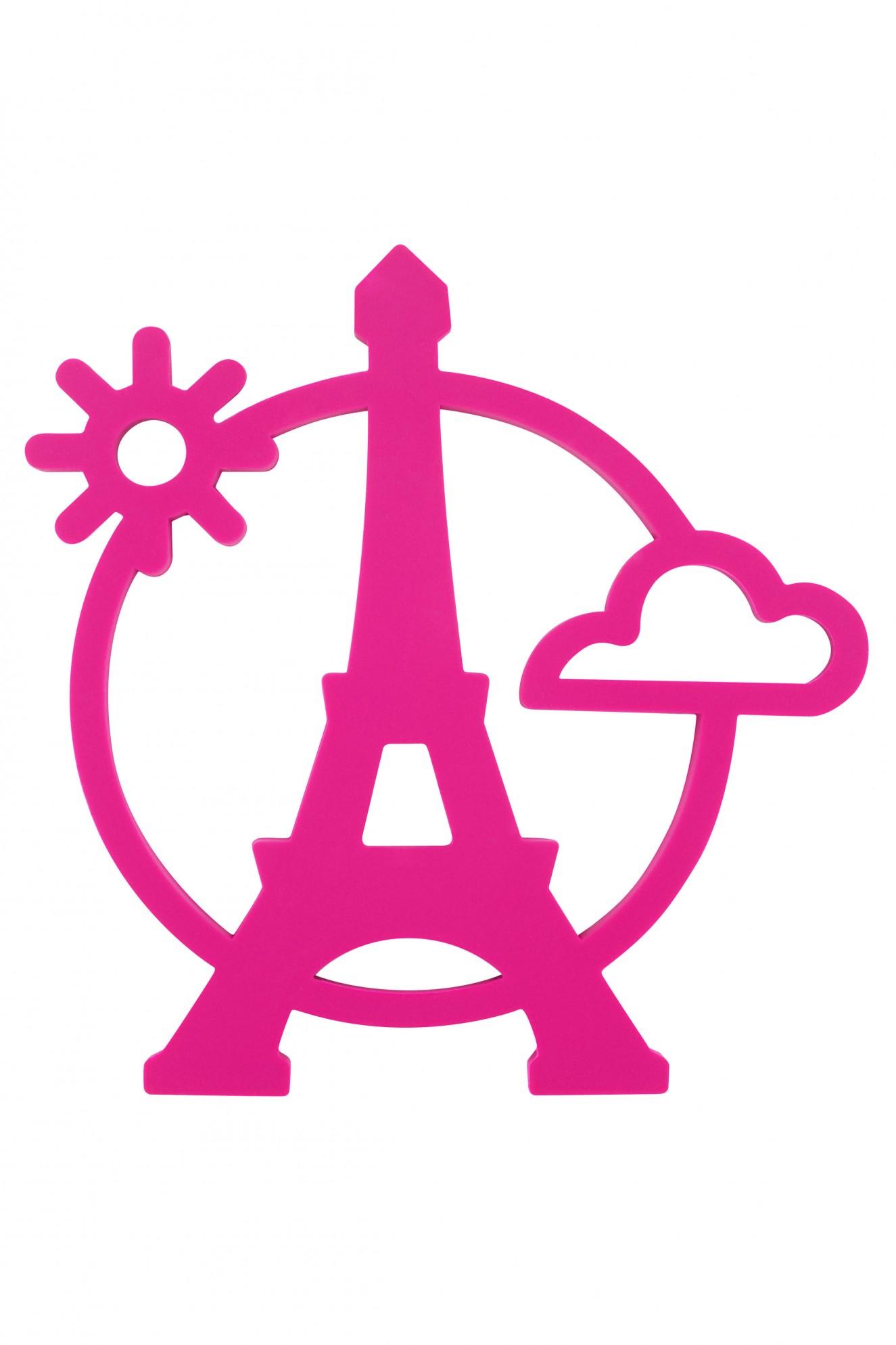 1325x1988 Pink Eiffel Tower Clipart