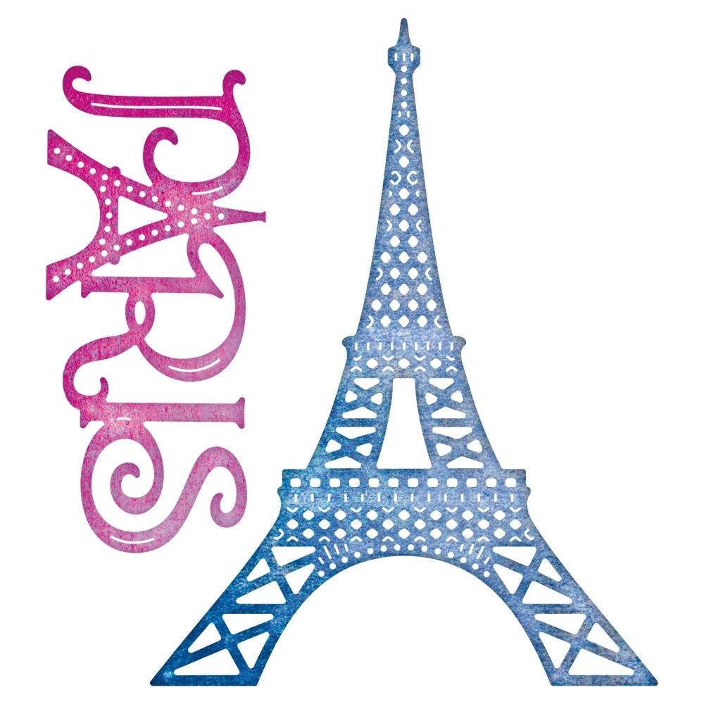 1000x1000 Blur Clipart Eiffel Tower