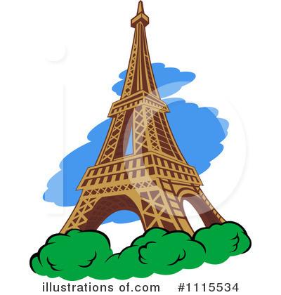 400x420 Eiffel Tower Clipart