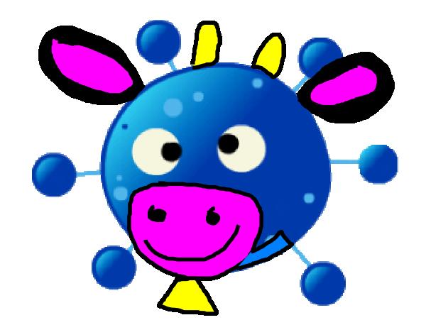600x451 Baby Einstein Welligtion The Cow Clip Art