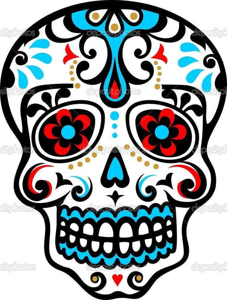 El Dia De Los Muertos Clipart