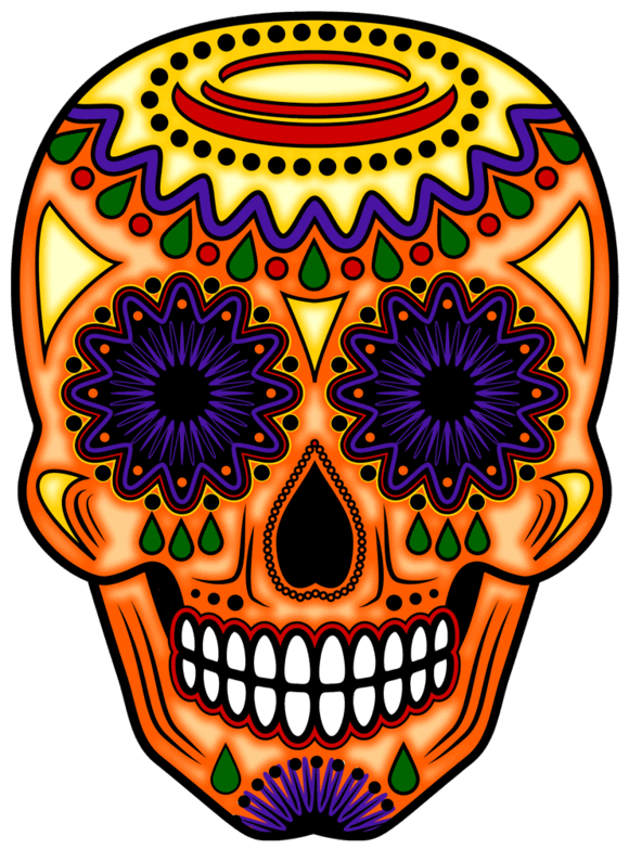 580x783 Day Of The Dead Art Day Of The Dead Day Of The Dead Altars