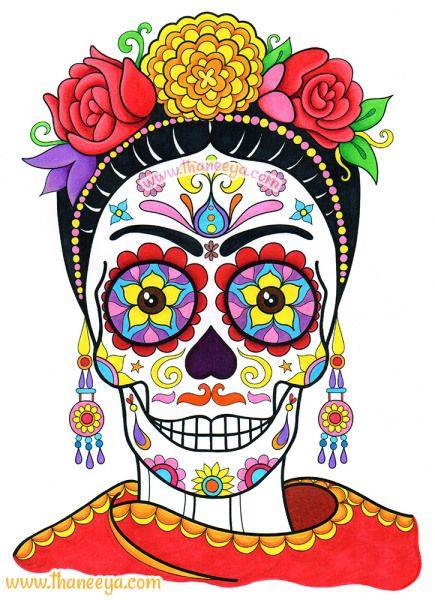 435x600 1163 Best El De Los Muertos Images On Mexico, Viva