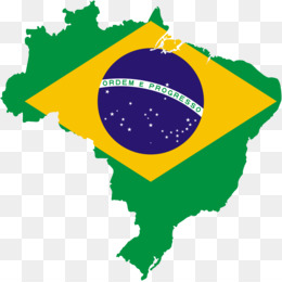 260x260 Flag Of Brazil Map Clip Art