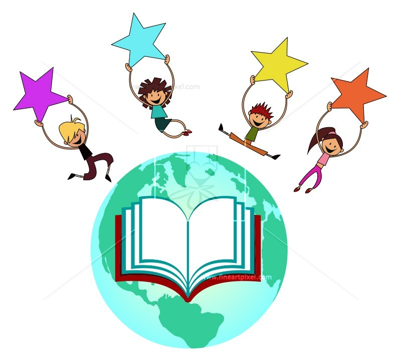 800x719 Global Education Kids Free Vectors, Illustrations, Graphics