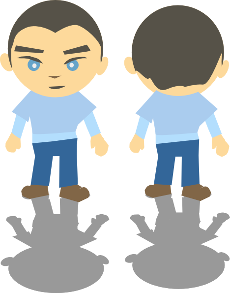 468x595 White Boy Clip Art Free Vector 4vector