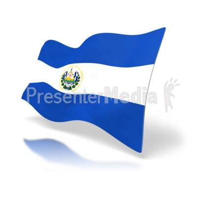 400x400 El Salvador Flag