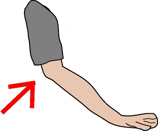 600x496 Elbow With Arrow Clip Art
