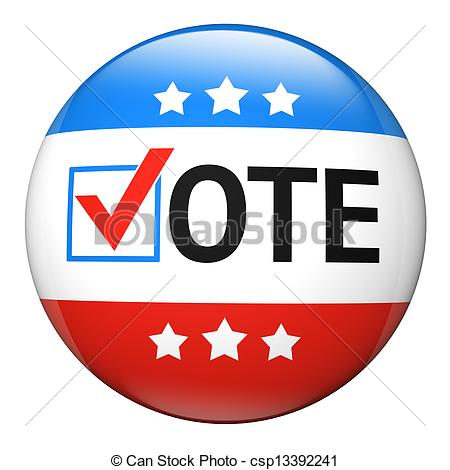 450x470 Vote Election Campaign Badge. Vote Election Campaign Glossy