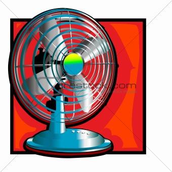 340x340 Retro Wind Fan Clip Art Clipart Panda