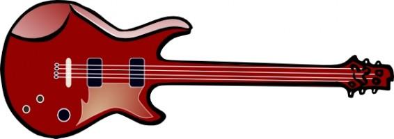 566x200 Electric Guitar Clip Art Clipart Panda