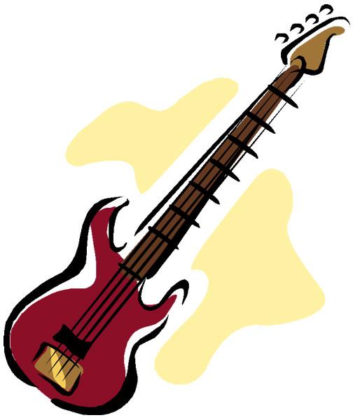 504x600 Bass Guitar Clip Art Clipart Panda
