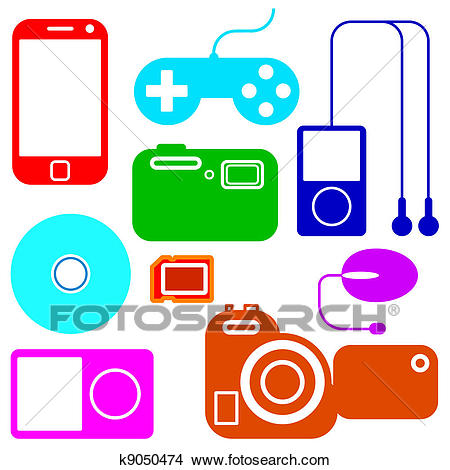 450x470 Electronic Clipart Group
