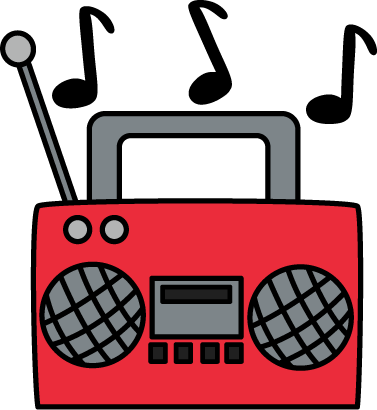 377x410 Radio Clip Art Radio Clip Art Radio Cassette Player With Music