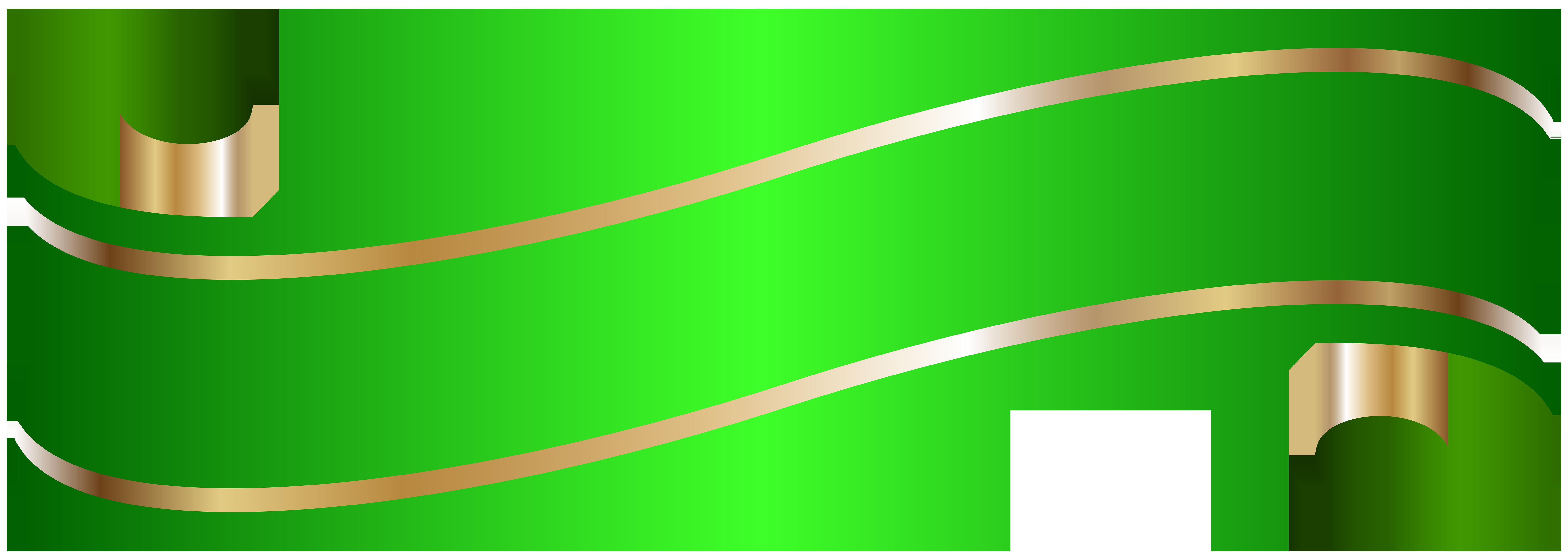 8000x2856 Elegant Banner Green Png Clip Artu200b Gallery Yopriceville