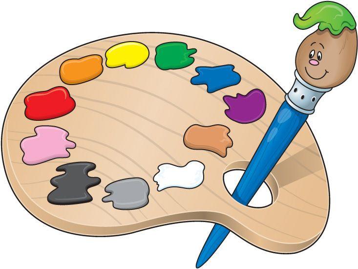 733x550 Art Pallet Clipart Elementary School Clip Art Paint Palette Clip