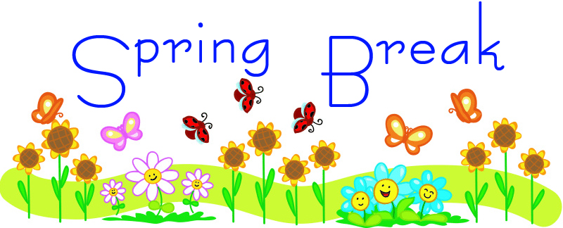 800x324 School Spring Break Clip Art 8 Hampton Elementary School