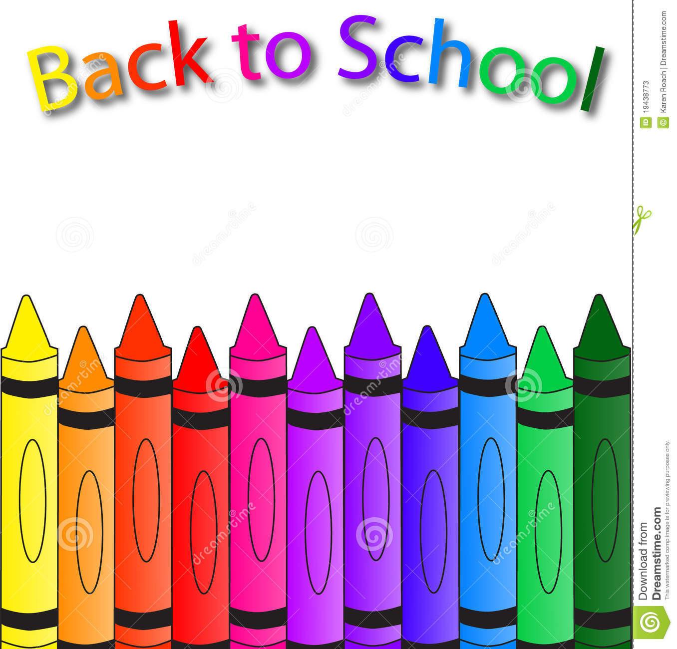 1356x1300 Crayola Crayons Clipart Elementary School Border Crayon 19438773