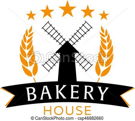 450x403 Bakery Shop Emblem, Labels, Logo And Design Elements. Fresh