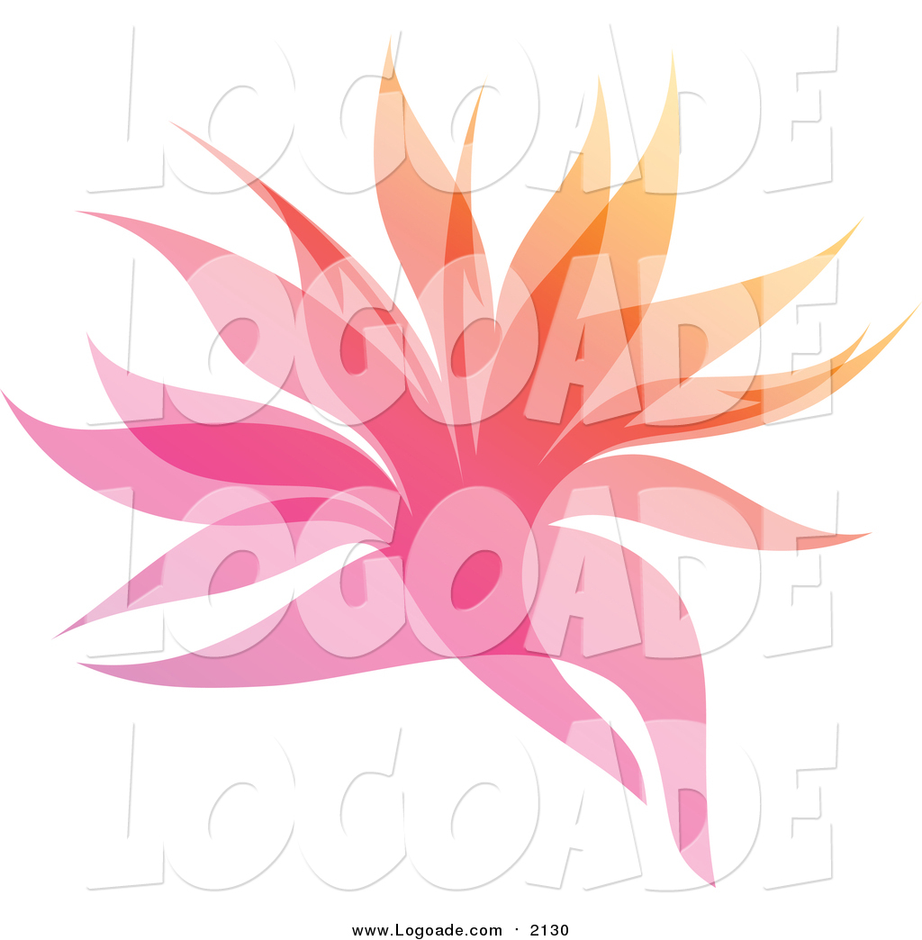 1024x1044 Clipart Of A Colorful Gradient Leaf Overlay Logo By Elena