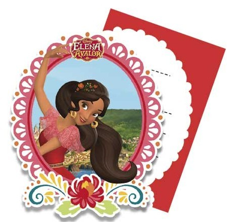 462x438 Elena Of Avalor Birthday Party, Elena Of Avalor Invites Partyweb.es