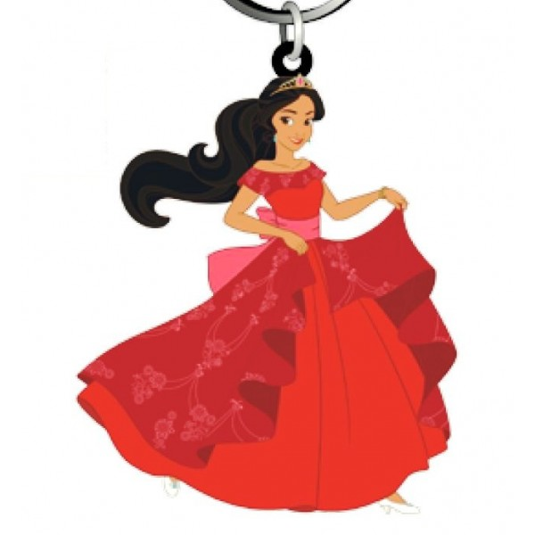 600x600 Elena Of Avalor Soft Touch Pvc Key Ring
