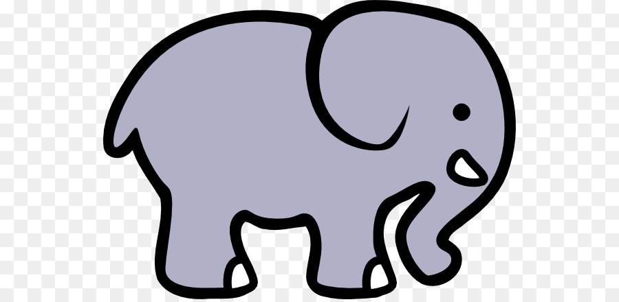 Elephant Cartoon Clipart