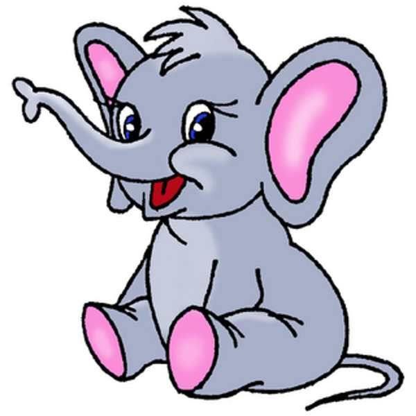 600x600 Cartoon Clipart Free Elephant Clip Art Cartoon Clipart Panda