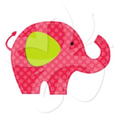 236x236 Elephant Clip Art Baby Shower Graphics Animals Clipart Cute Pink