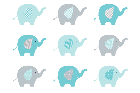 580x386 Free Elephant Baby Shower Clipart