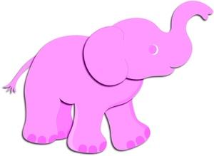 300x219 Elephant Clip Art White Elephant Clip Art