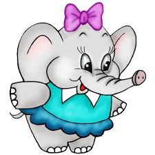225x225 Baby Cartoon Animals Clip Art Cute Baby Elephant Images Kids