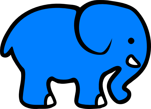 600x436 Elephant Clip Art For Kids