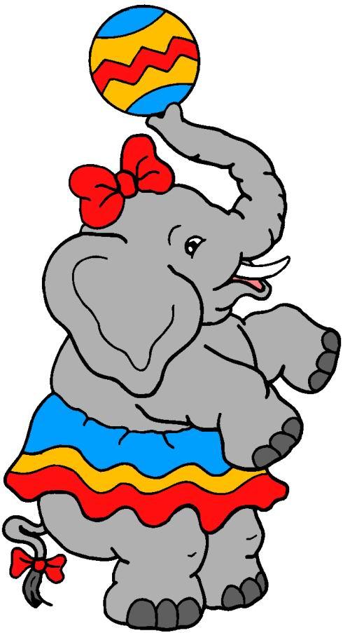 490x903 Elephant Clipart Carnival
