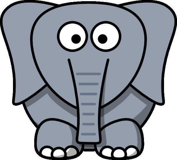 600x545 Cartoon Elephant Clip Art Clipart Panda