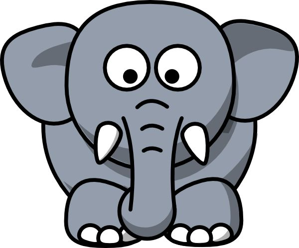 Elephant Ears Clipart