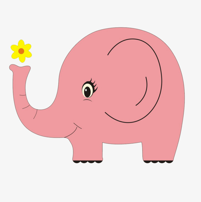650x651 Pink Elephant, Pink, Elephant, Big Ear Png Image And Clipart