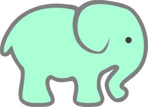 Elephant Face Clipart