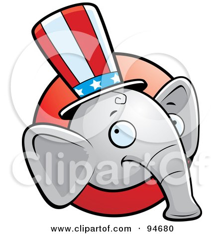 450x470 Clipart Elephant Eating Popcorn And Watching A 3d Movie