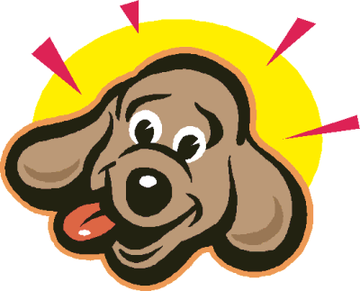 400x323 Dogs Face Cliparts